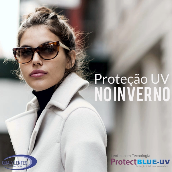 Proteção UV no Inverno