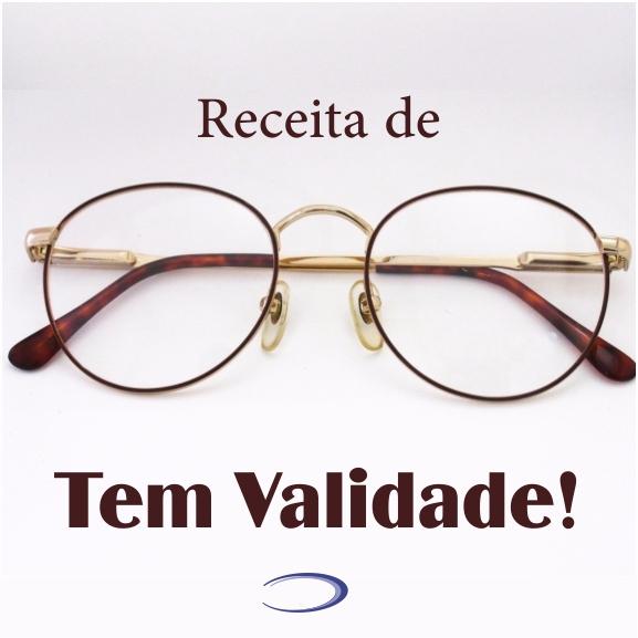 Receita de Óculos Tem Validade!