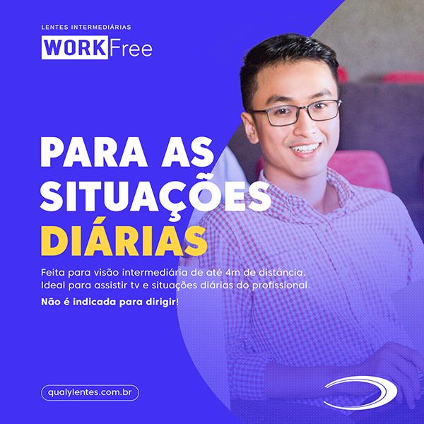 Conheça nossas lentes ocupacionais WorkFree